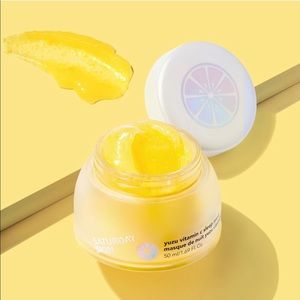 New In Box Saturday Skin Yuzu Vitamin C Sleep Mask